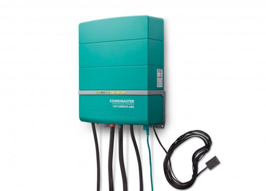 La serie Mastervolt CombiMaster coniuga facilità d'uso, affidabilità, una tecnologia di ricarica e di rete all'avanguardia. Le applicazioni impegnative e i carichi elevati non sono un problema per i potenti dispositivi CombiMaster. Grazie alle interfacce MasterBus, CZone e NMEA2000 integrate, la serie CombiMaster è compatibile con quasi tutte le attuali tecnologie di rete e terminali. (Immagine 3 di 9)