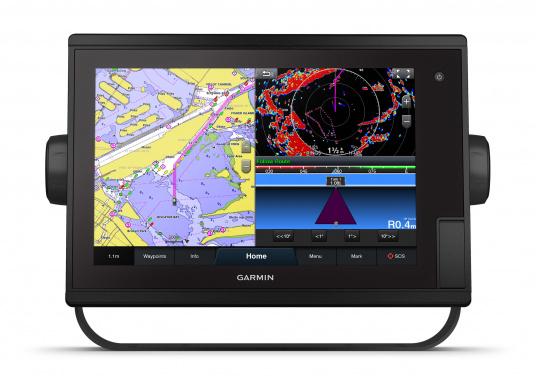 """Il chartplotter GPSMAP 1222 Plus è semplice, intuitivo e, grazie al suo display estremamente luminoso, è facile da leggere anche sotto la diretta luce del sole. Il touchscreen da 12"""" è perfetto per visualizzare le carte, è facile da usare e si integra perfettamente al sistema nautico Garmin. (Immagine 6 di 12)"""
