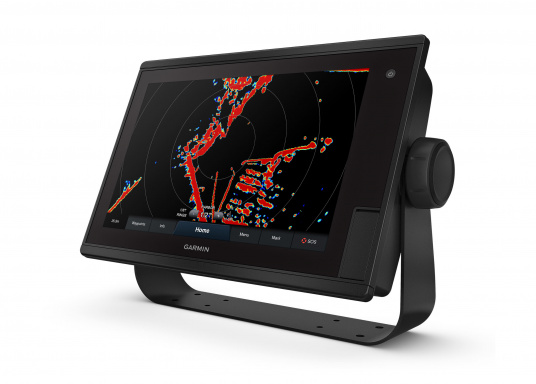 """Il chartplotter GPSMAP 1222 Plus è semplice, intuitivo e, grazie al suo display estremamente luminoso, è facile da leggere anche sotto la diretta luce del sole. Il touchscreen da 12"""" è perfetto per visualizzare le carte, è facile da usare e si integra perfettamente al sistema nautico Garmin. (Immagine 1 di 12)"""