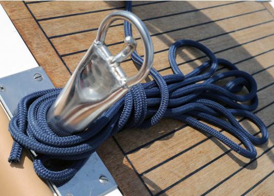 Cima da ormeggio di alta qualità per un uso intenso!Le cimeDOCK-TWIN hanno un'anima a 12 legnoni, in poliammide, protetta da una calza in poliestere robusto. Cime disponibili indiversi diametri.  (Immagine 5 di 7)
