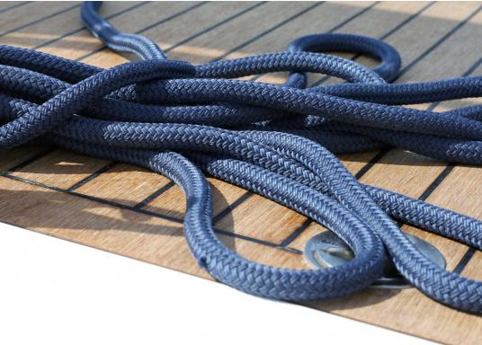 Cima da ormeggio di alta qualità per un uso intenso!Le cimeDOCK-TWIN hanno un'anima a 12 legnoni, in poliammide, protetta da una calza in poliestere robusto. Cime disponibili indiversi diametri.  (Immagine 4 di 7)