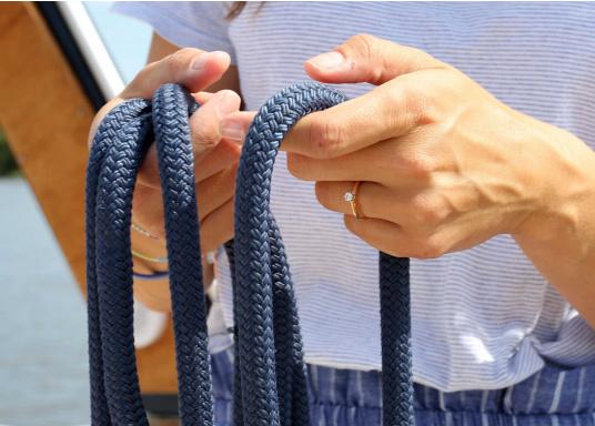 Cima da ormeggio di alta qualità per un uso intenso!Le cimeDOCK-TWIN hanno un'anima a 12 legnoni, in poliammide, protetta da una calza in poliestere robusto. Cime disponibili indiversi diametri.  (Immagine 3 di 7)