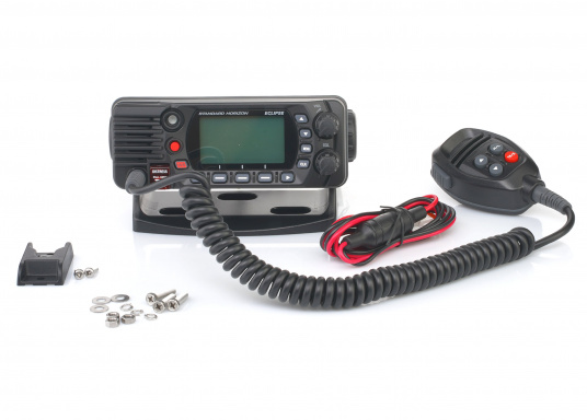 Radio VHF marina molto compatta, con DSC di classe D, un display molto ampio, antenna GPS integrata e l'interfaccia NMEA 0183 che permette la facile integrazione alla rete di bordo esistente. GX1400G offre prestazioni affidabili e assicura facilità d'uso. (Immagine 7 di 7)