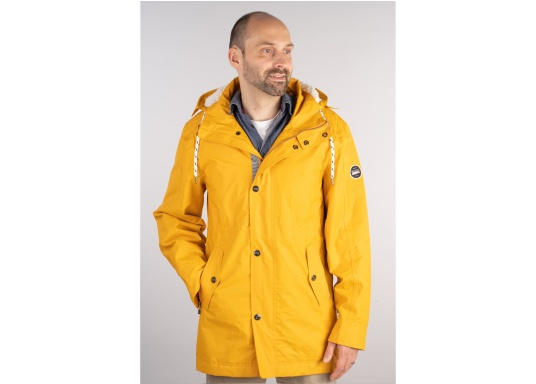 L'elegante giacca per tutte le stagioni di Marinepool ti protegge dal vento e dalle intemperie. Dotata di collo alto e pelliccia nella zona del petto e nel cappuccio, la giacca NILAS offre una protezione di prima classe nelle fredde giornate di pioggia. (Immagine 1 di 14)