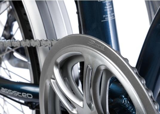 Con la nuova e-bike in alluminio BLIZZARD PRO, il viaggio diventa la meta. Come ulteriore sviluppo del popolare modello precedente BLIZZARD, avrai nuove funzionalità per un'autonomia e una flessibilità ancora maggiori. Lasciati sorprendere dalla nuova bici pieghevole senza dover rinunciare al piacere di guida! la consegna include una borsa per un comodo trasporto della bicicletta. (Immagine 7 di 12)