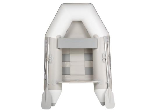 Gommone di alta qualità MARLIN modello NEMO 200 per principianti con un design chic, buone caratteristiche di guida e un imbattibile rapporto qualità-prezzo. Ideale per l'uso come tender, canotto per il tempo libero o barca da bagno. (Immagine 1 di 8)