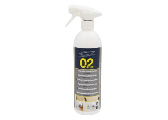Il detergente anti macchie e anti ruggine NAUTIC CLEAN è ideale per rinnovare e ripristinare le imperfezioni del gelcoat. (Immagine 1 di 2)
