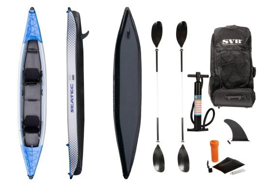 Scopri la natura in un modo nuovo con i kayak gonfiabili di alta qualità di SEATEC. (Immagine 11 di 12)