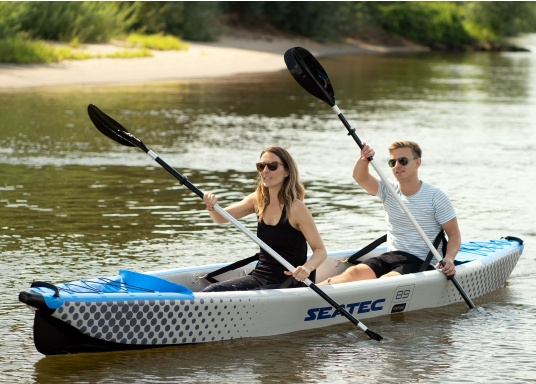 Scopri la natura in un modo nuovo con i kayak gonfiabili di alta qualità di SEATEC. (Immagine 1 di 12)