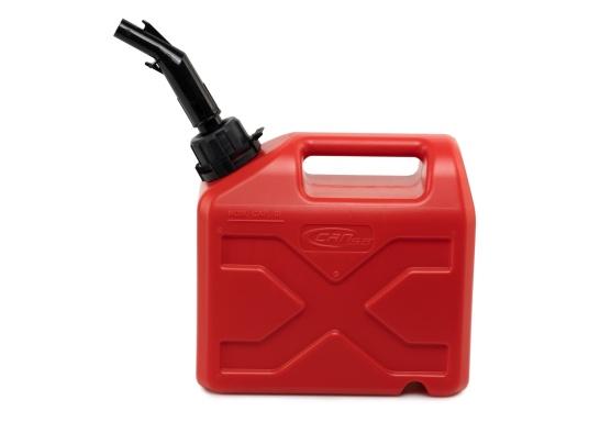 Tanica per carburante ad alto rendimento realizzata in HD-PE di alta qualità. Soddisfa i più elevati standard di sicurezza. Queste taniche di carburante sono approvate per il trasporto di sostanze pericolose e sono adatte anche per carburante di tipo E10. (Immagine 5 di 8)