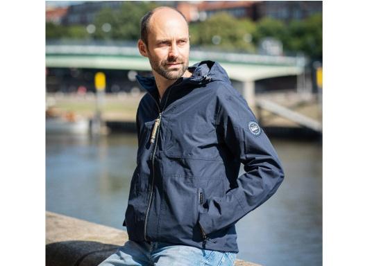La giacca da uomo MIKO è una giacca alla moda che offre una protezione dalle intemperie ottimale ed è sia impermeabile che traspirante. (Immagine 2 di 10)