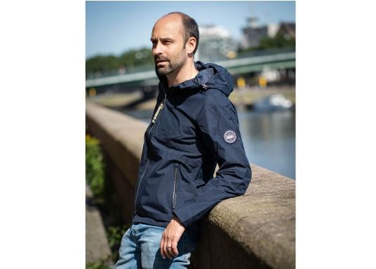 La giacca da uomo MIKO è una giacca alla moda che offre una protezione dalle intemperie ottimale ed è sia impermeabile che traspirante. (Immagine 1 di 10)