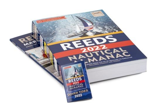 Il ReedsNautical Almanac comprende tutte le informazioni per navigare in sicurezza lungo la costa atlantica europea, da Skagen in Danimarca fino a Gibilterra. Lingua inglese. (Immagine 6 di 11)