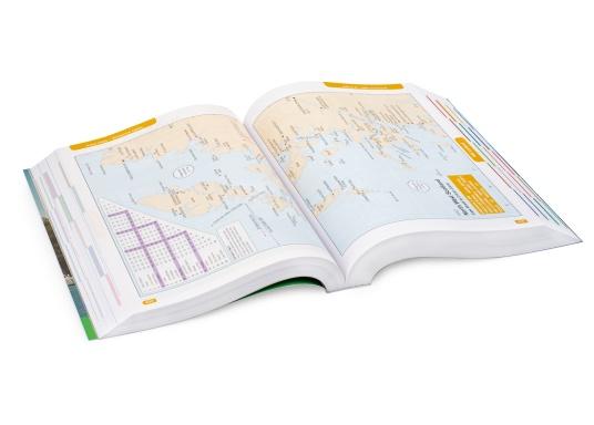 Il ReedsNautical Almanac comprende tutte le informazioni per navigare in sicurezza lungo la costa atlantica europea, da Skagen in Danimarca fino a Gibilterra. Lingua inglese. (Immagine 3 di 11)