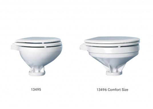 Funzionamento comodo, design e tecnologia innovativi! La tazza è in fine porcellana cinese, sedile e coperchio softclosesono realizzati in plastica resistente.  (Immagine 7 di 7)