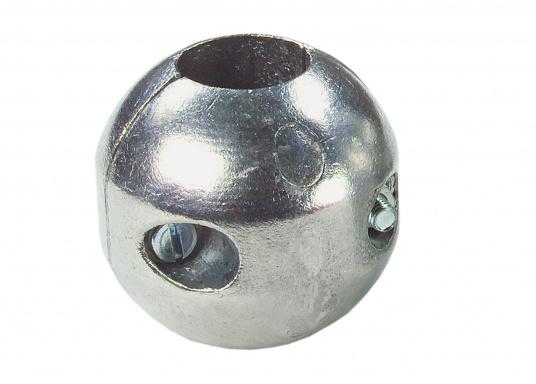 Anodi di zinco, per protezione delle parte metalliche sotto la linea di gallegiamento. Disponibili in diverse dimensioni. (Immagine 2 di 3)