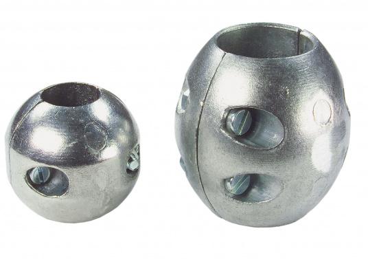 Anodi di zinco, per protezione delle parte metalliche sotto la linea di gallegiamento. Disponibili in diverse dimensioni. (Immagine 1 di 3)