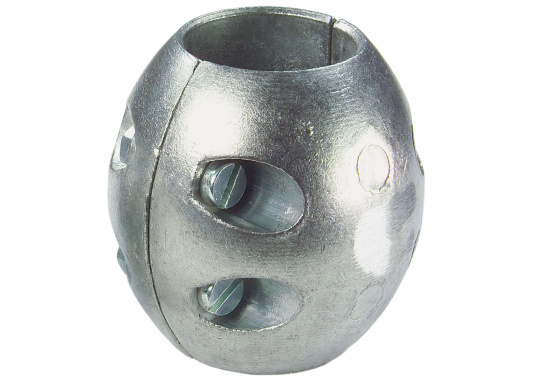 Anodi di zinco, per protezione delle parte metalliche sotto la linea di gallegiamento. Disponibili in diverse dimensioni. (Immagine 3 di 3)